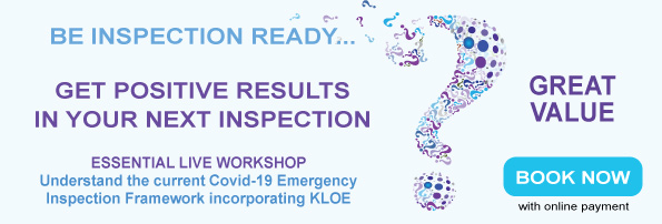 Live Learning Course Be Inspection Ready with KLOE Standards