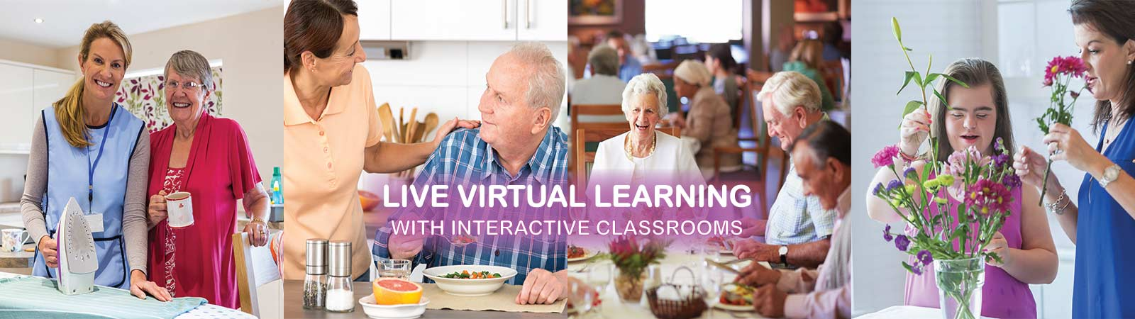 Alium Care Training Courses delivered via online live virtual learning